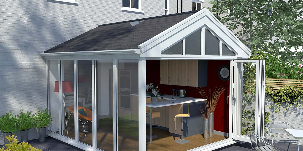 UltraRoof Gable Conservatory