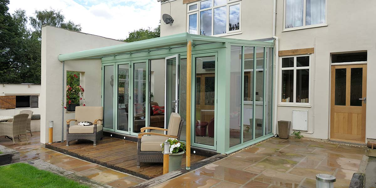 Glass Extension with Bi-Folding Doors