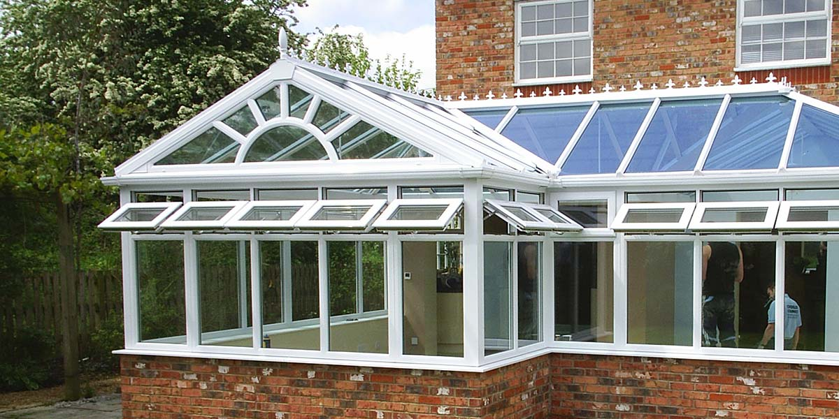 P Shaped Gable Conservatory
