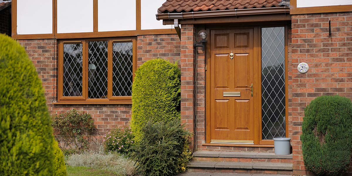 Oak Leaded Upvc Windows Amp Composite Door Permaframe Somerset
