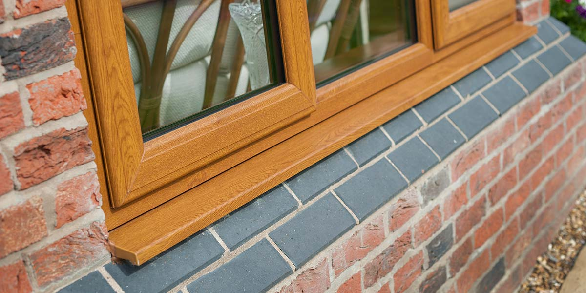 Oak Upvc Windows Replacement Oak Windows By Permaframe