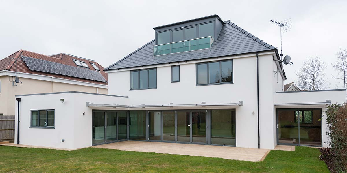 Grey Aluminium Windows Amp Bi Folding Doors Permaframe