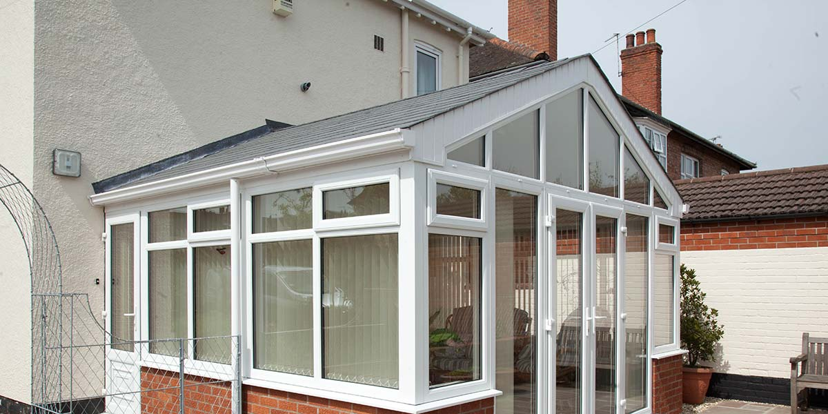 Solid Tiled Roof Gable Conservatory
