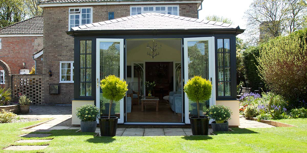 Solid Tiled Roof Conservatory