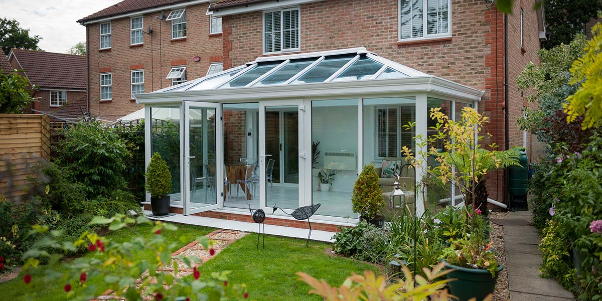 Glass-To-Floor Edwardian Conservatory