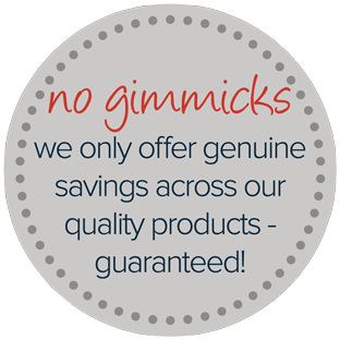 No Gimmicks - Genuine Offers Only