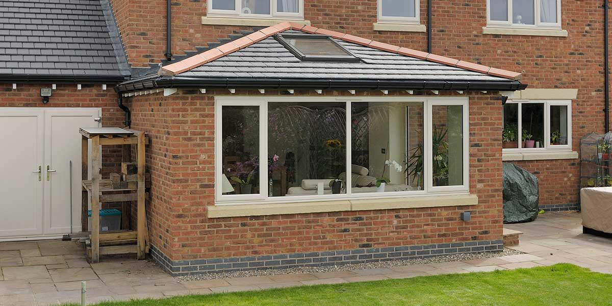Solid Tiled Roof Orangeries From Permaframe Solid Tiled Roof Orangery Somerset